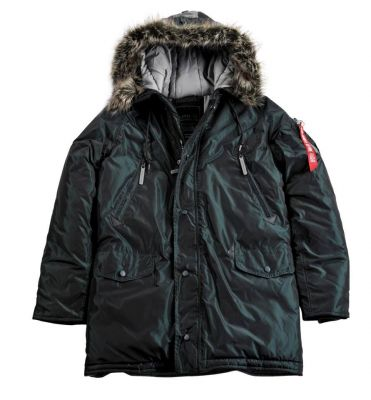 Bunda Alpha Industries N3B R (dark petrol)