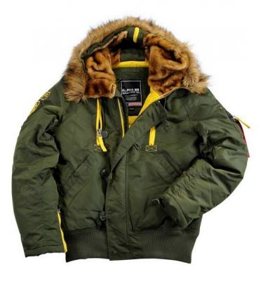 Bunda Alpha Industries  PPS N2B Dark Green