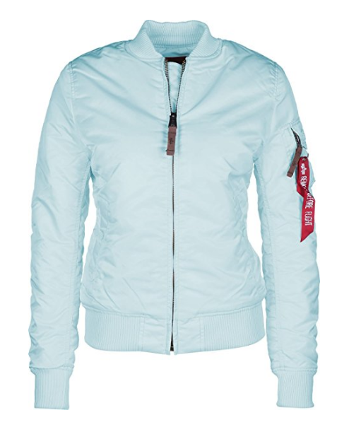Alpha Industries MA1 VF 59 Wmn světle modá