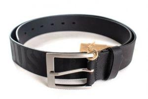 Alpha Industries Embossed Alpha Belt (Black)