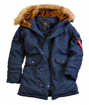 Alpha Industries bunda Explorer (repl.blue)