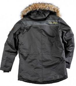Alpha Industries pánská zimní bunda Mountain Parka repl.grey - Etappa