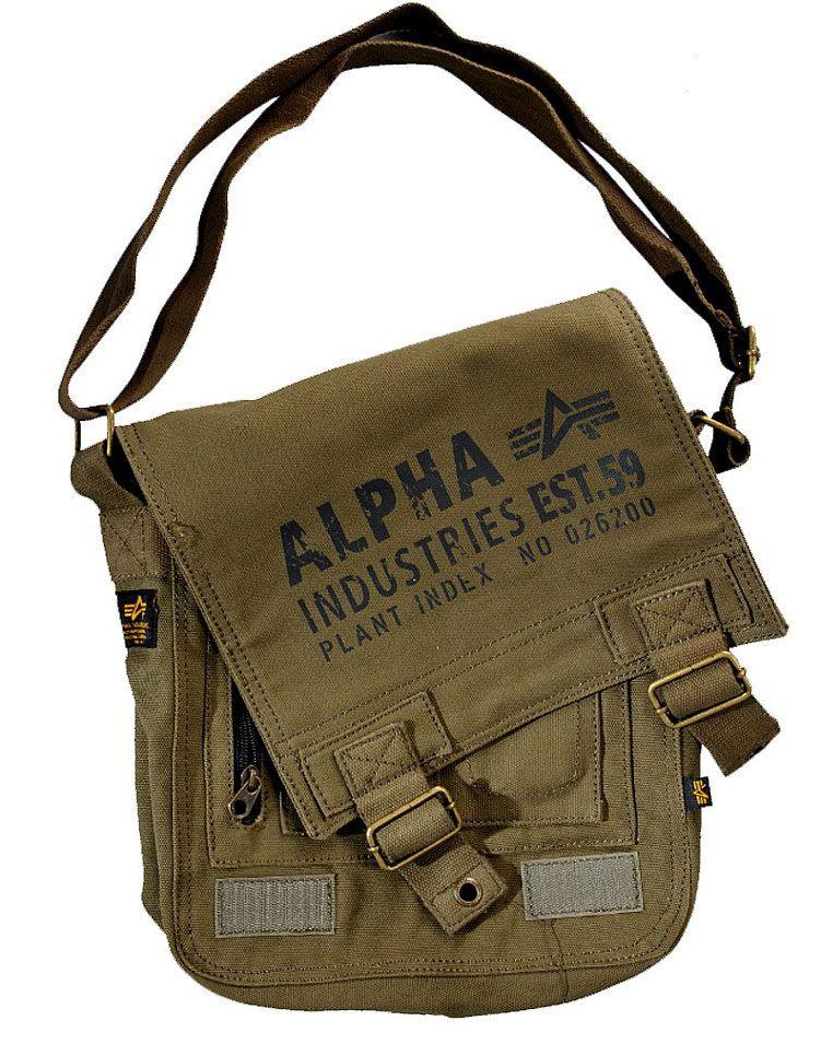 Alpha Industries taška Cargo Canvas Utility Bag