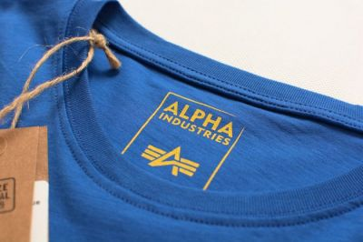 Alpha Industries triko Basic pacific blue