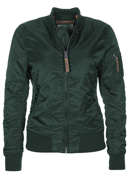 Bunda Alpha Industries MA-1 VF 59 Wmn tm. zelená