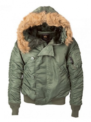 Bunda Alpha Industries N2-B sage green