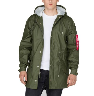 alpha industries raincoat