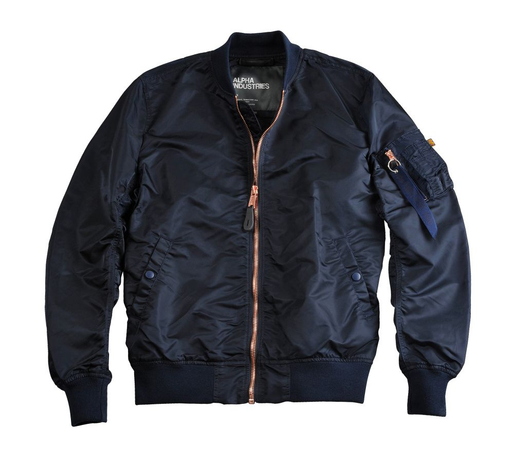 Pánská bunda Alpha Industries MA-1 VF LW Repl. blue/copper - Etappa