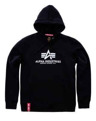Alpha Industries Basic Hoody (black)