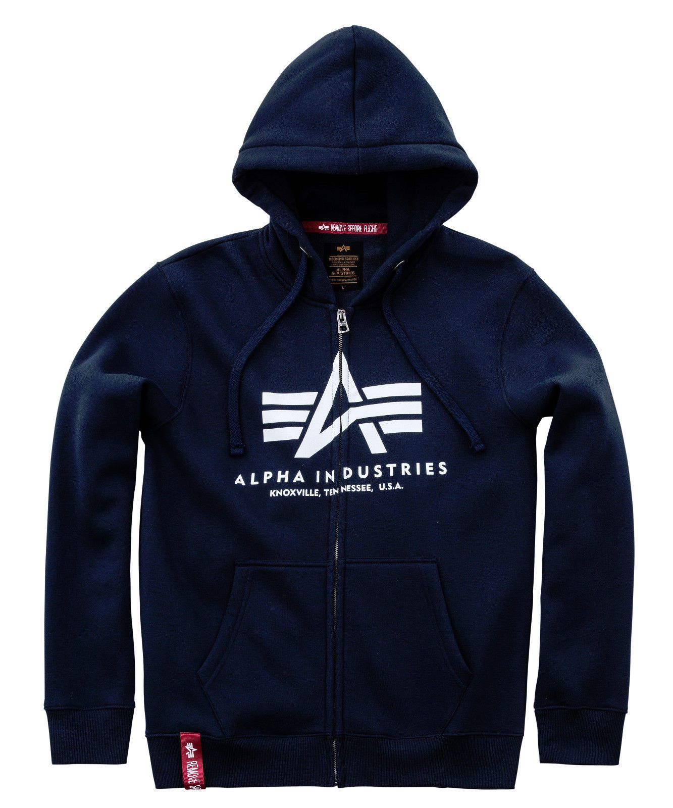 Alpha Industries Zip Hoody