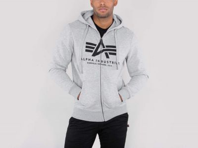 Alpha Industries Basic Zip Hoody - Etappa