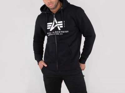 Alpha Industries Basic Zip Hoody