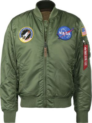 Alpha Industries bunda MA-1 VF NASA (sage green)