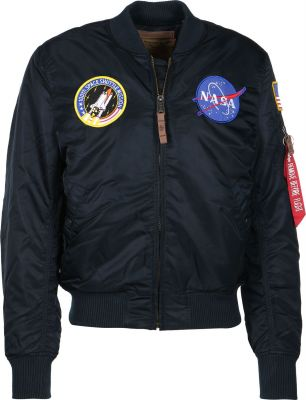 Alpha Industries MA-1 VF NASA (repl.blue)