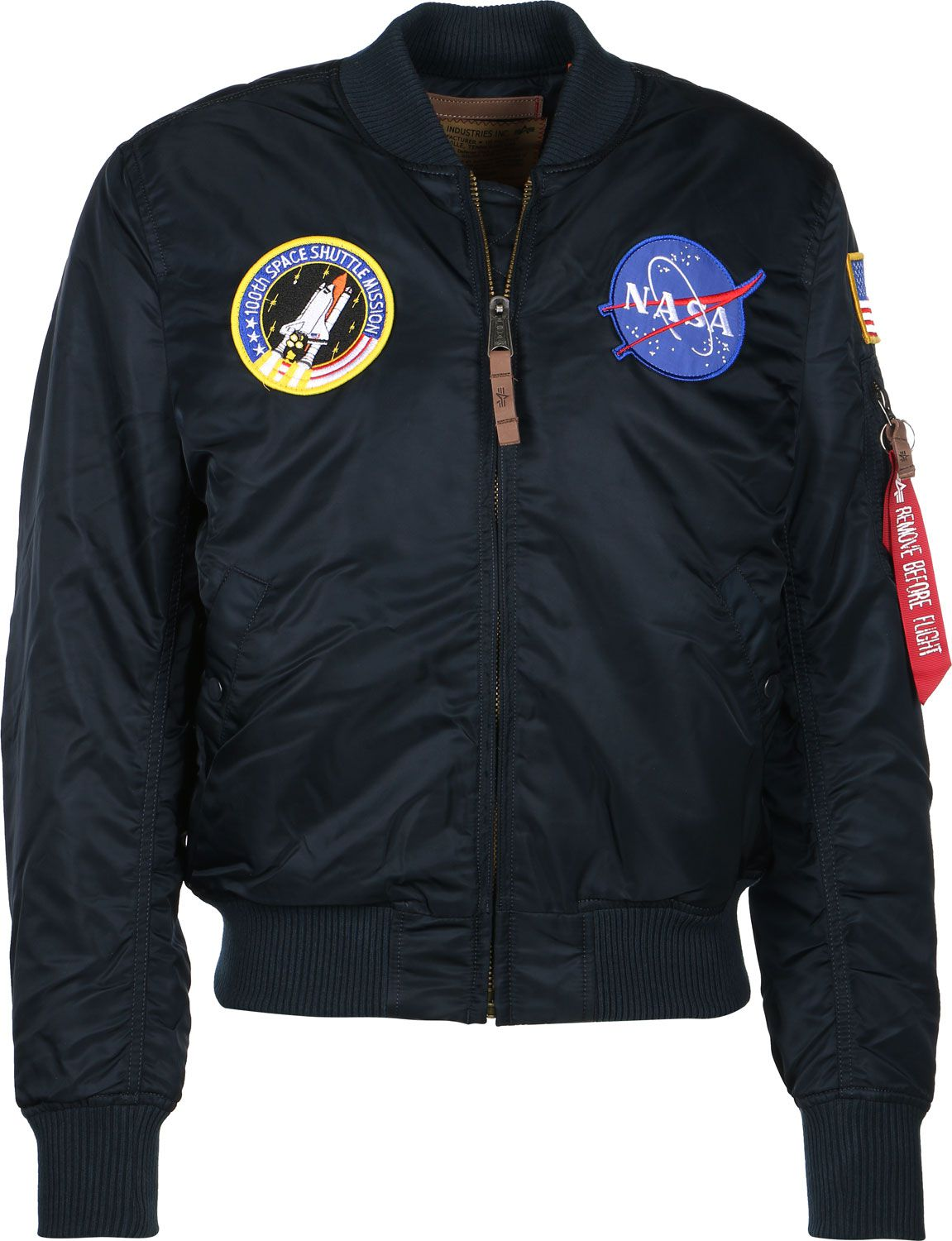 Alpha Industries pánská bunda MA-1 VF NASA (modrá) - Etappa