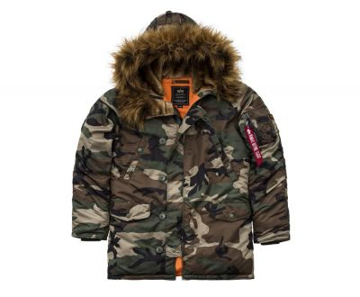 Bunda Alpha Industries N3B VF 59 wdl. camo