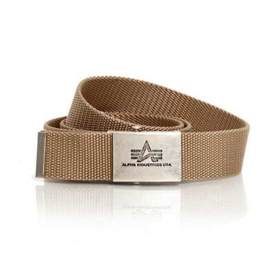 Alpha Industries opasek Heavy Duty Belt khaki