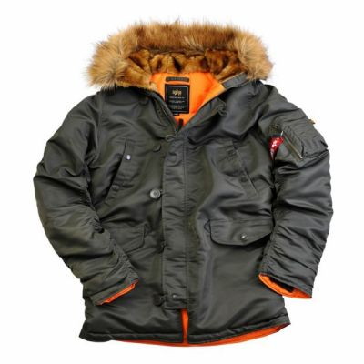 Bunda Alpha Industries N3B VF 59 šedá