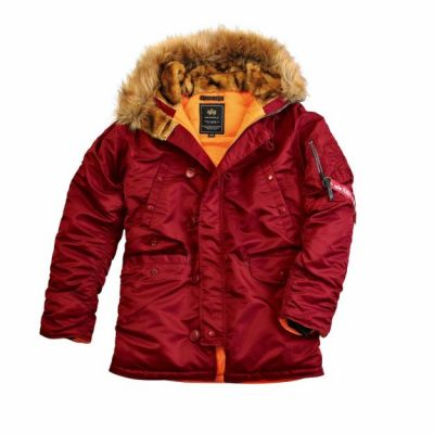Alpha Industries pánská bunda N3B VF 59 (burgundy)