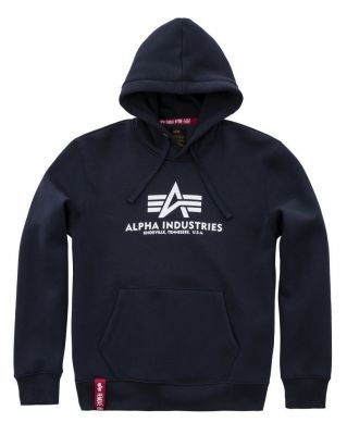 Alpha Industries Basic Hoody (navy)