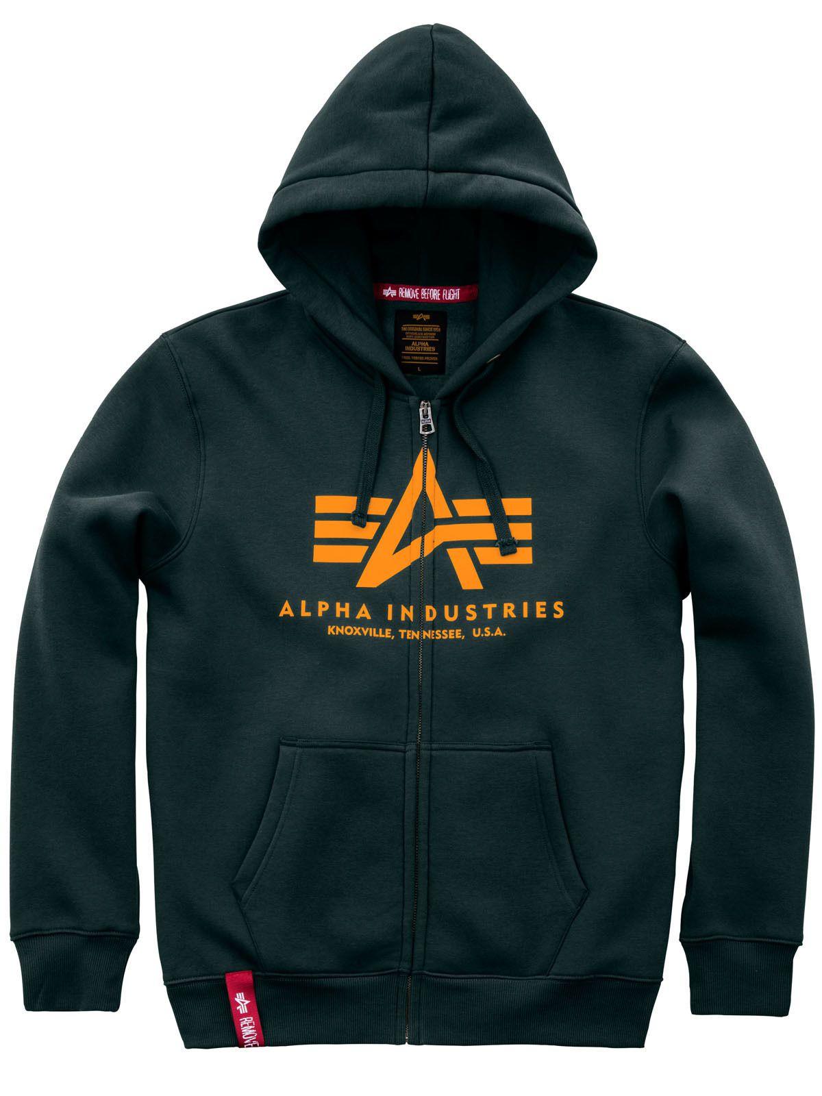 Alpha Industries Basic Zip Hoody