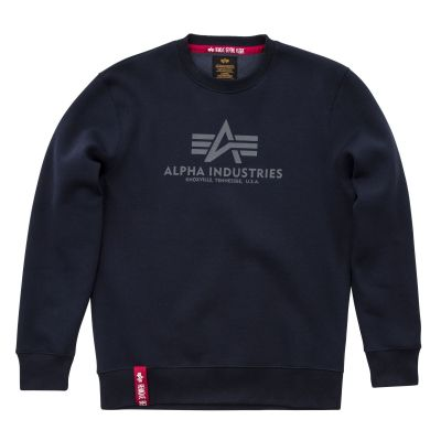 Alpha Industries mikina Basic Sweater modrá (repl.blue)