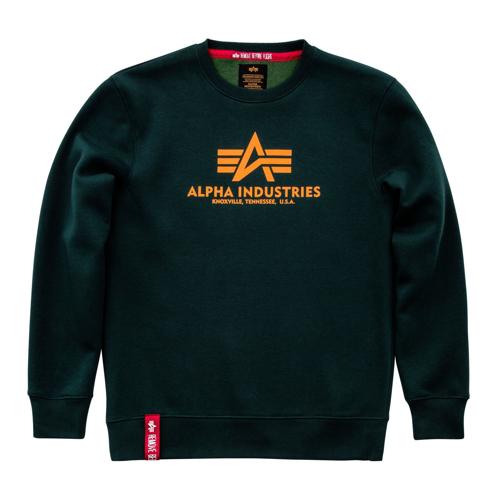 Alpha Industries Basic Sweater (dark petrol) - Etappa