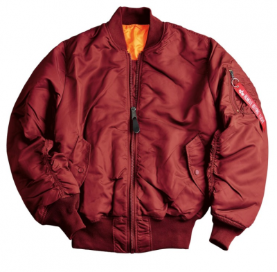 Alpha Industries MA1 burgundy