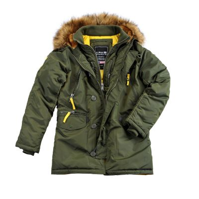 Alpha Industries PPS N3B Dark green
