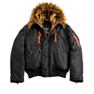 Bunda PPS N2B Alpha Industries (black/orange)