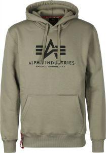 Alpha Industries pánská mikina Basic Hoody olivová (olive)