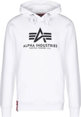 Alpha Industries  Basic Hoody bílá (white)