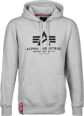 Alpha Industries  Basic Hoody Greyheather