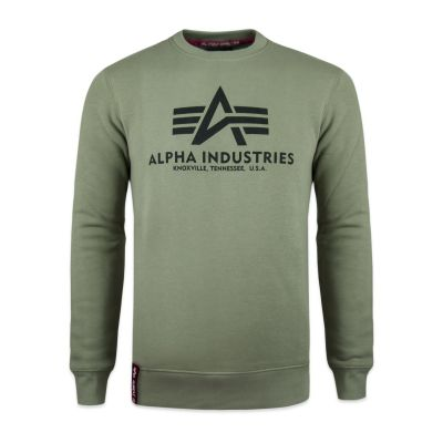 Alpha Industries mikina Basic Sweater (olive)