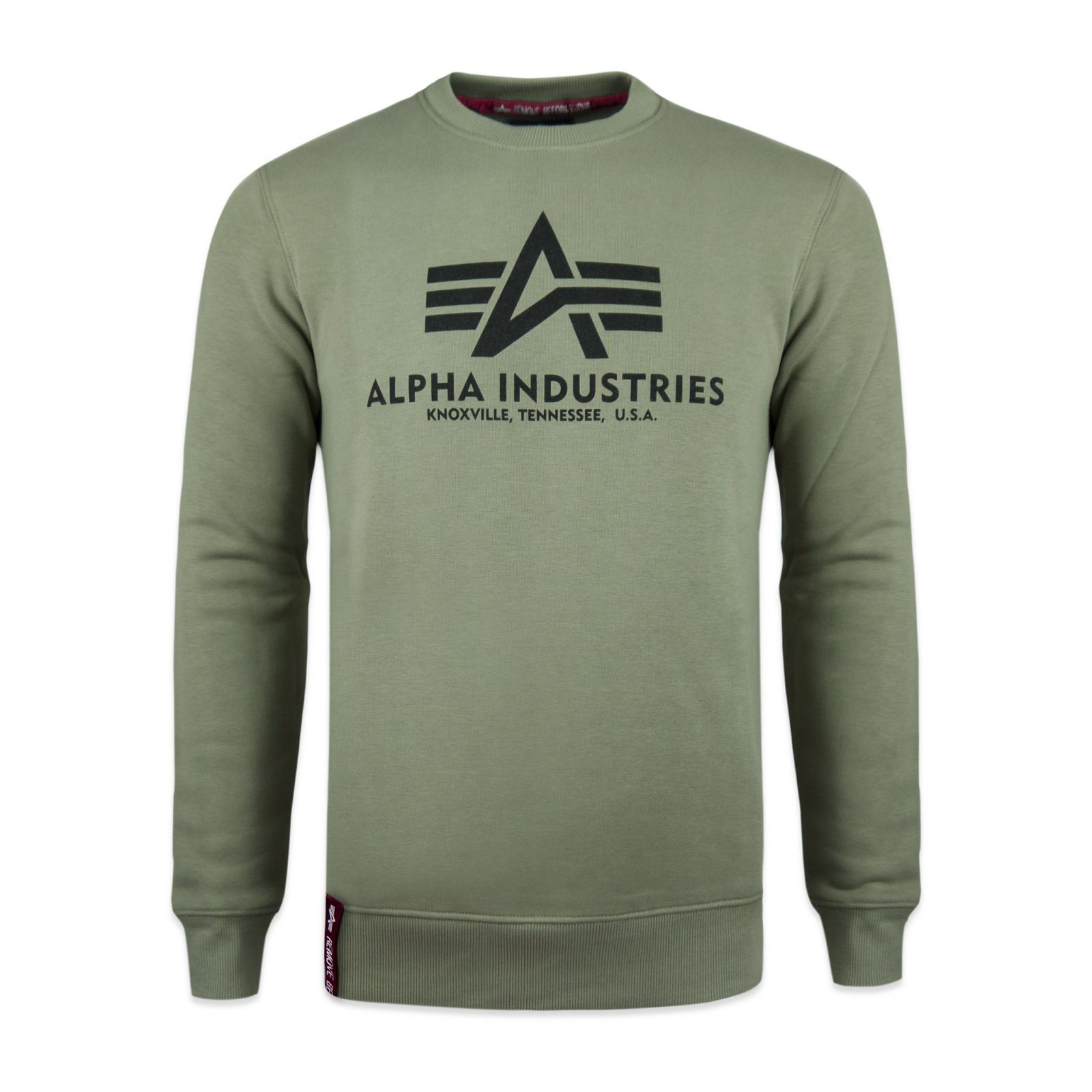 Alpha Industries Basic Sweater (olive) - Etappa