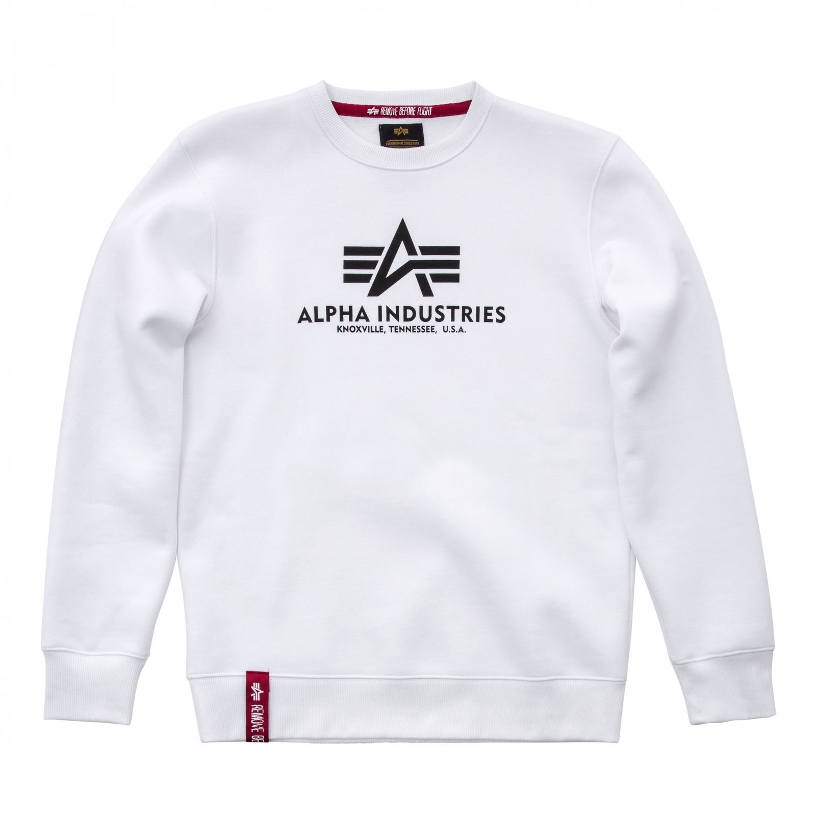 Alpha Industries pánská mikina Basic Sweater white