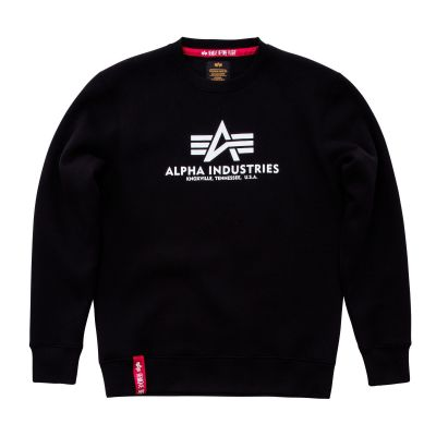 Alpha Industries Basic Sweater (black)