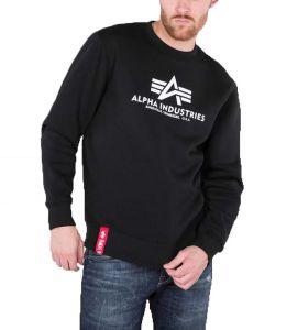 Alpha Industries pánská mikina Basic Sweater černá