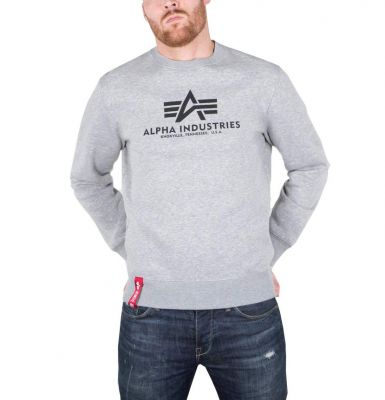 Alpha Industries Basic Sweater Greyheather