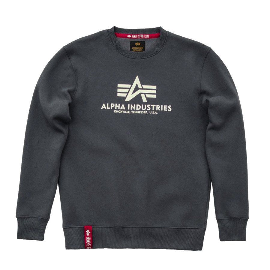 Alpha Industries Basic Sweater Greyblack