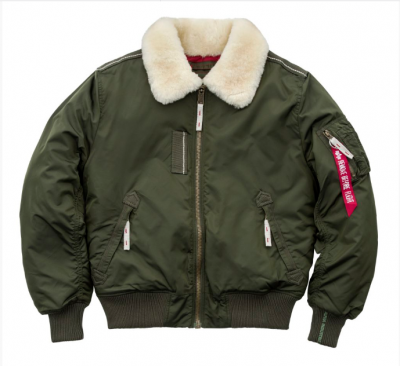 Bunda Alpha Industries Injector III Dark green