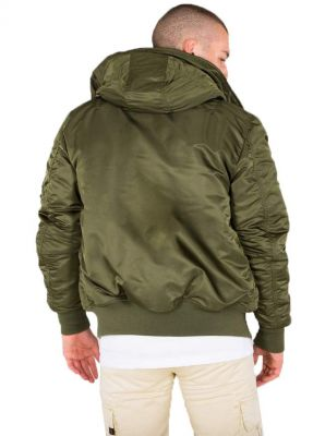 Bunda Alpha Industries MA1 Hooded Dark green 158104-257