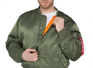 Alpha Industries MA-1 sage-green