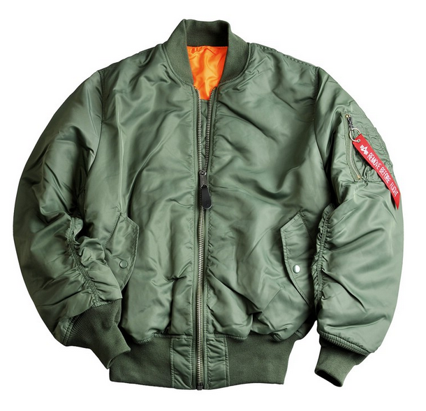 Alpha Industries MA1 sage green