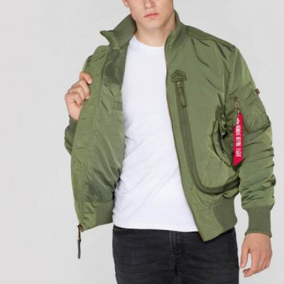 Alpha Industries bunda Prop Sage green - Etappa