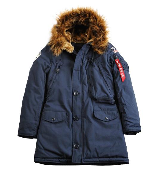 Zimní dámská bunda Alpha Industries Polar Jacket wmn 123002-07