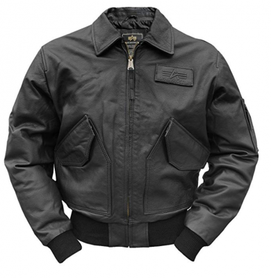 Alpha Industries CWU Leather