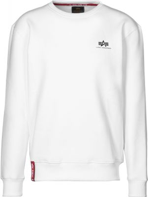 Alpha Industries mikina Basic Sweater Small Logo (white)