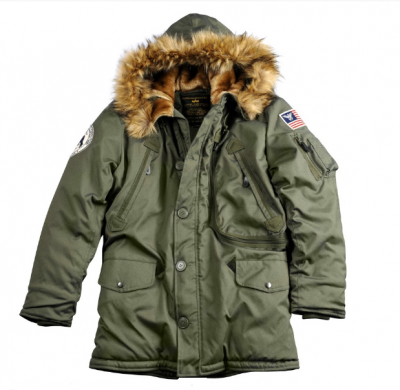 Bunda Alpha Industries Polar Jacket Dark green
