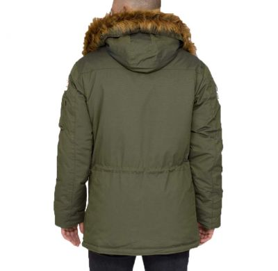 Bunda Alpha Industries Polar Jacket Dark petrol